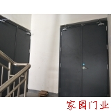 Installation of flat steel fire door in five rivers of Bengbu