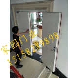 Bangbu Wuhe custom made and installed steel class a fire door (white)